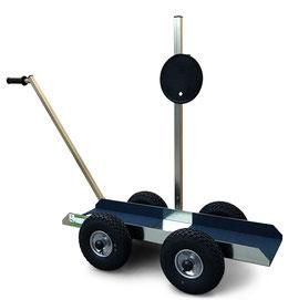 TS 500 Air Tandem Glastransportwagen  mit Powr-Grip Vakuum Handsauger Marktneuheit