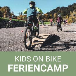 Kinder Moutainbike Feriencamp. Kids Bike Parcours in Oberstaufen/ Westallgäu