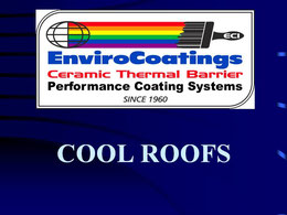 EnviroCoatings: Cool Roofs