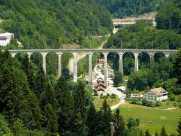 Das Viadukt von St. Ursanne