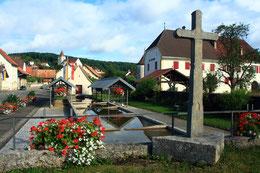 Der Waschbrunnen von Coeuve
