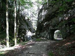 Aufstieg durch die Tunnels
