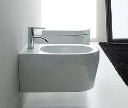WC und Bidet Serie GENESI