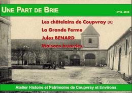 Le magazine de Part de Brie n°10