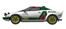 vettura da rally grafica completa lancia stratos alitalia pubblimais a torino grafica