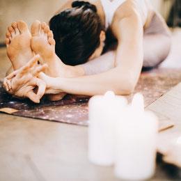 Yoga Daniela Uster - die Frau im Mittelpunkt