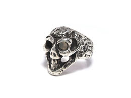 BWL R310GR GRAFFITTI SMALL GOODLUCK SKULL RING