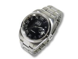 SAAD ステンレスバンド腕時計