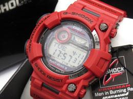 未使用 G-SHOCK FROGMAN GWF-1000RD-4JF バーニングレッド 赤蛙 フロッグマン 電波ソーラー 美品