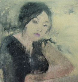 纪录肖像8 DIARY PORTRAIT VIII 60X60CM 布面油画 OIL ON CANVAS 2005