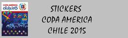 Panini Copa America Chile 2015 Stickers