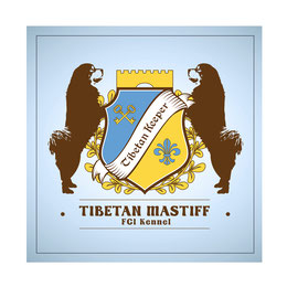 creative logo ideas; tibetan mastiff fci kennel logo; tibetan keeper kennel logo; luxury kennel logo design order; tibetan mastiff ukraine; LA BEAUTY Studio Ukraina Ukraine;