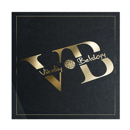 luxury personal logo design; Vitaliy Belskyy personal logo design; Vitaliy Belskyy FCI UKU judge expert; creative personal logo design order; golden luxury logo design; PRS LA BEAUTY; Kiev;