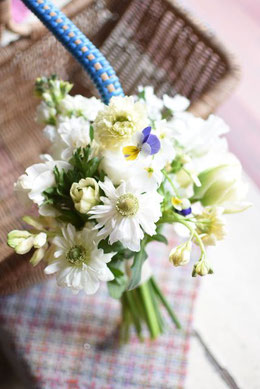 1月お届け限定!!*Snow White Bouquet*