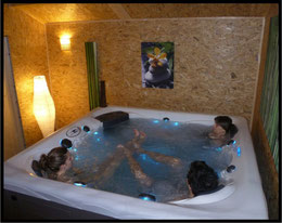 Le spa, espace zen