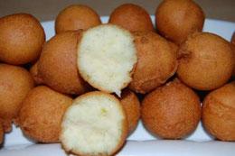 Clic ici - Beignet soufflet à huile raffinée haricot blanc piment fort
