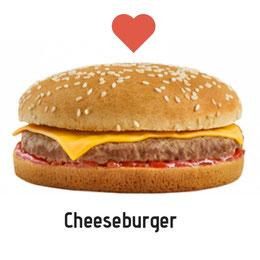 Amoureux du Ceeseburger. Prix : 1500 FCFA