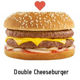 Amoureux du Cheeseburger. Prix : 2500 FCFA