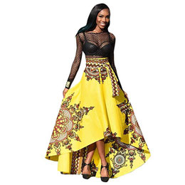 Robe Femme, Amlaiworld Robe Imprimée de Femmes Africaines 5886