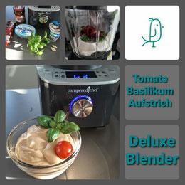 Tomate Basilikum Aufstrich aus dem Deluxe Blender von Pampered Chef®