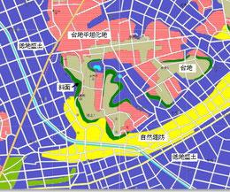 地盤マップ例 土地条件図