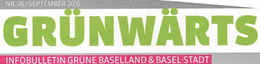 Infobulletin Grüne Baselland und Baselstadt