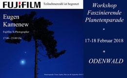 Fotoworkshop, Sterne, Odenwald