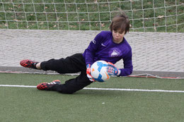 TuS E1-Jugend beim Vogelheimer SV.