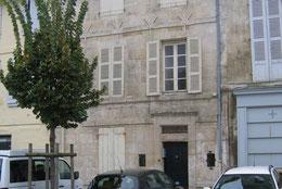 Les petites allées, La maison d'édition, façade
