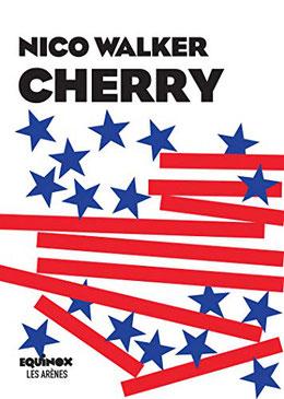 Couverture 'Cherry' #autobiographie  #guerre #Irak #étatsunis #braquage #voleurs #drogue #prison par guillaume cherel