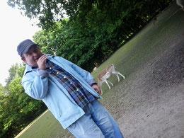 ich im Tierpark Eseehof