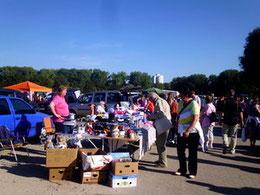 Jeden 1. Sonntag im Monat Flohmarkt im Allerpark