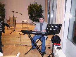 ich beim musikalischen Einsatz