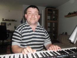 ich am keyboard