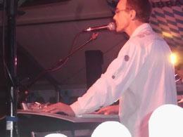 Livemusik im Zelt