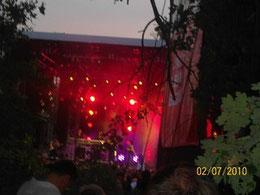 Nena war 2010 ein besonderes Konzert im Allerpark mit 40000 Zuschauern