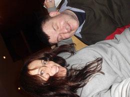 Tina und ich im Theater