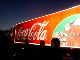 der Coca Cola Truck in Wolfsburg