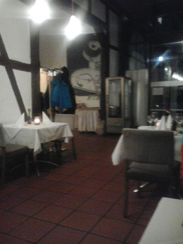 oder das vornehme Restaurant am Schloss