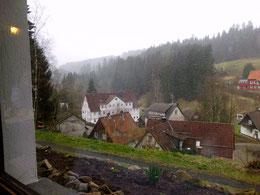 Blick aus dem Hotel auf Altenau
