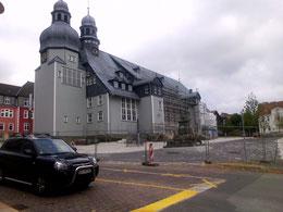 Jetzt führte mich ein Ausflug in den Harz nach Clausthal Zellerfeld da steht die größte Holzkirche