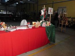 Jedes Jahr findet der Adventsbazar in der Lebenshilfe statt