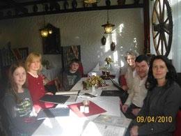oder ein Familientreff im Likagrill 2010