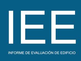 Presupuesto Informe de evalución de edificio.