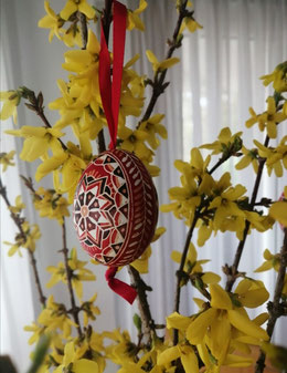 Frohe Ostern Osterei