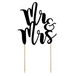 Bild: Hochzeitstorte dekorieren - finde schöne und moderne Kuchentopper und Caketopper für die Hochzeitstorte, den Sweet Table und die Candybar, eine Übersicht von www.partystories.de