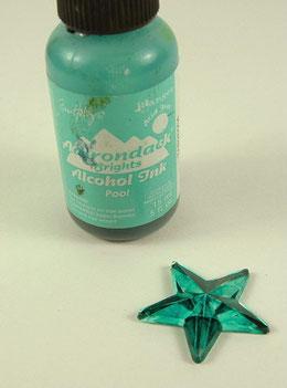 Christmas Fairy - colouring stars