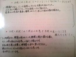 奈良県腰痛整体の感想