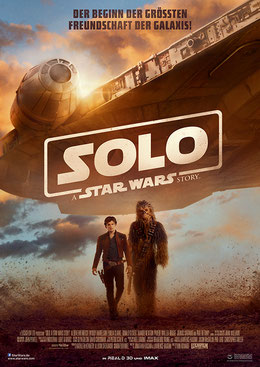 Solo A Star Wars Story Film Review Filmplakat Kino