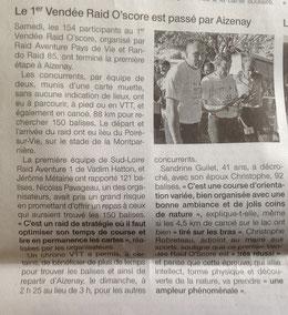 Ouest France du 18 juin 2013